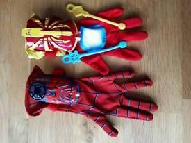 Spider Man Hero FX gloves