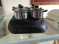 Curry Hot plate Set