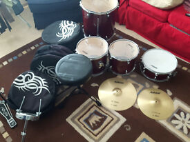 Ashton Drum Set for Sale - Very Good Condition