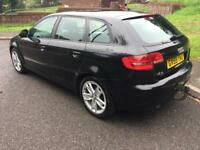 2009 AUDI A3 1.6 TDI SPORT £30 YEAR ROAD TAX 1 OWNER FROM NEW