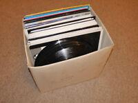 80 Vinyl Record Singles - Dance Music from around 2005