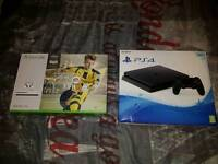 Ps4 silm and Xbox one s