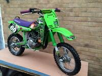 Kawasaki KX60 fully Restored