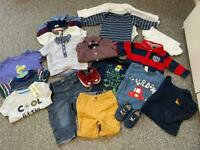 Baby boys 6-9 months clothes bundle