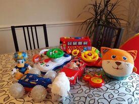 Bundle of toys for boy