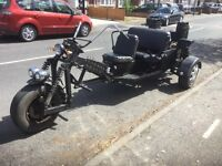 Trike for sale Vauxhall powered 1600 autimatic