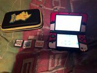 Pokemon Skin 3DS XL, Case & 3 games PRICE DROP £75 ONO