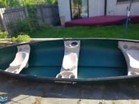 "Sun Dolphin Mackinaw SS 15' 6"" Canoe"