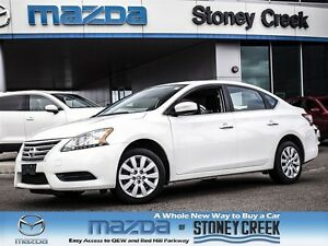 2015 Nissan Sentra 1.8 ONE OWNER, ACCIDENT FREE, A/C, B/CAMERA