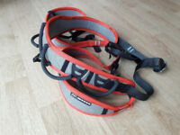 DMM Renegade Pro 2 Climbing Harness size medium with threadback buckle (never used)