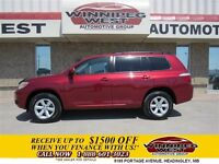 2008 Toyota Highlander CANDY APPLE RED NEW GENERATION V6 4X4 FUL