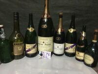 Bar Restaurant display collection of bottles