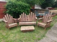 Rustic cottage garden set