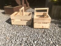 Garden Trug made from 100% recycled timber