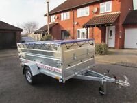 Car Duble Broadside box trailer Camping trailer one axle 750kg