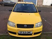 2003 Fiat Punto 1.2 16v Active Sport 3dr F/S History HPI Clear @07445775115@ 07725982426@
