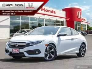 2017 Honda Civic 1-Owner|Clean Carfax|Low KMS|Leather|Navigation