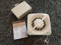 Greenwood Airvac AXS100SVIT Low Volt Timer Bathroom Kitchen Extractor Fan