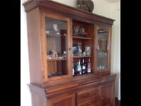 Willis and Gambier sideboard/display cabinet