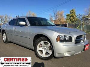 2010 Dodge Charger SXT** LEATH, AUX. INPUT, CRUISE **
