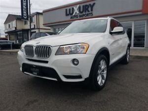 2013 BMW X3 2.8I XDRIVE-PANOROOF-PREMIUM-ONLY 76K