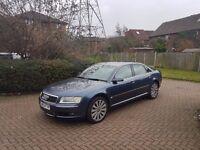 2004 Audi A8 4.0 TDI QUATTRO Auto Blue