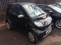 2006 56 Smart Fortwo 0.7 City Pure 3dr Hatchback, Just £30 a year Tax!, 84,000 Miles
