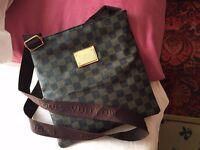 Louis Vuitton Brown Cross Body Shoulder Bag