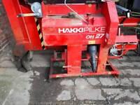 Wood processor tractor driven hikki pickel