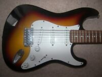 Fender Squire Stratocaster Style Electric Guitar by Encore.