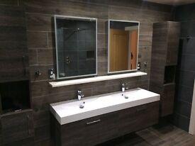 Tiling and bathroom specialist (tiler, plumber, bathrooms, kitchens)