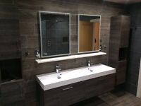 Tiling and bathroom specialist (tiler, plumber, bathrooms, kitchens)