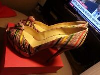 Stunning Authentic Christian Louboutins They cost almost £1000 new ltd edition selling for £169