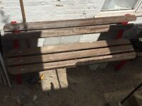 Strong Garden bench solid wood
