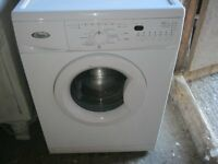 WHITE 'WHIRLPOOL' AWOD5526 WASHING MACHINE. 6KG. 1200 SPIN. GOOD ORDER. VIEW/DELIVERY AVAILABLE