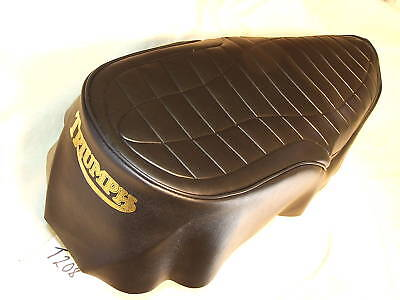 TRIUMPH T140 SEAT COVER 1978 BEST QUALITY BY FAR WE ALSO SELL SEAT FO