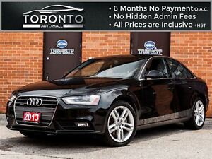 2013 Audi A4 2.0T Premium Plus+Navigation+Led+Xenon+Push start