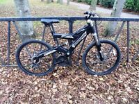 """21 Speed Disk Brake Suspension Mountain Bike. Fully Serviced & Ready To Ride. Guaranteed. 19"""" Frame"""