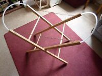 Folding Moses Basket Stand to fit up to 840 x 330 cms - Shipley