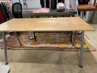 Wooden desk home office x3 available