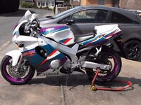 Yamaha FZR 600 PX any bike and delivery possible