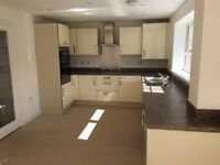 Almost new fitted kitchen, to include double oven, gas hob and extractor