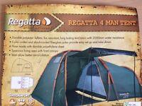 New Regatta 4 Man Tent