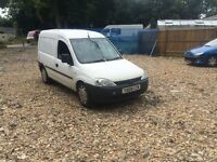 2009 Vauxhall Combo 1.7cdti spares or repair