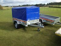 Tema trailer brand new with canopy ideal for camping equip or garden equip