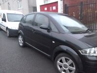Audi A2; excellant condition low mileage
