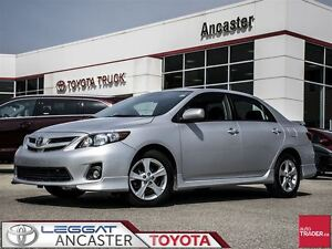 2012 Toyota Corolla S - LEATHER AND MOONROOF!!