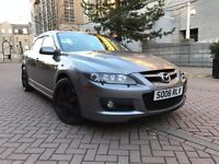 *RARE OPPORTUNITY*MAZDA 6 MPS QUATTRO-ONLY 60K GENUINE MILEAGE-TOP RANGE EXAMPLE-FULL LEATHER-265BHP