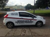 Good reliable Ford Fiesta work van for sale