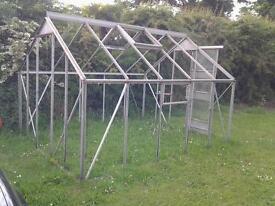 Glass greenhouse,
